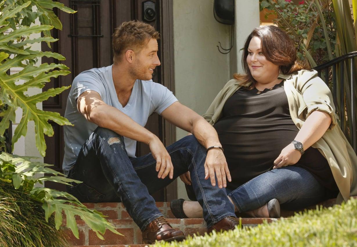 This Is Us -sarjassa seurataan muun muassa Keviniä (Justin Hartley) ja Katea (Chrissy Metz). Kuva: Nelonen