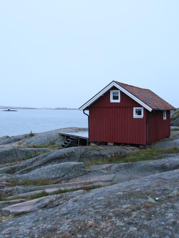 Kukapa ei haaveilisi kodista, jossa lähin naapuri on merimatkan päässä!