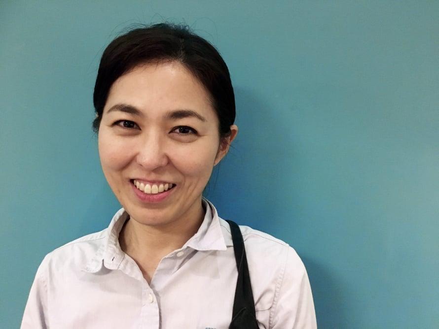 Rina Matsuo, 40, käynnisti Taste of Okinawa -kokkikoulun veljensä kanssa viime vuonna Nahassa.