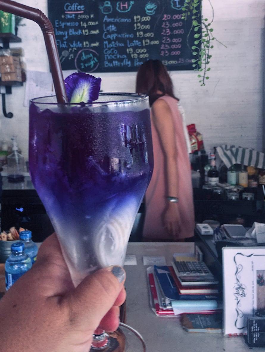 Noin 1,50 euron juoma! Halpaa on tämä drinksuttelu.