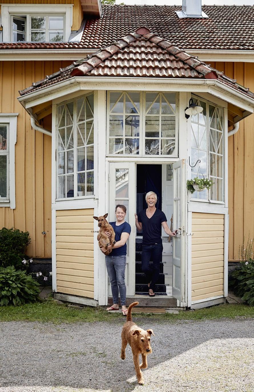 Mikonheikin talon on ollut Pekka Rantion ja Pete Vuorion kakkoskoti viitisen vuotta.