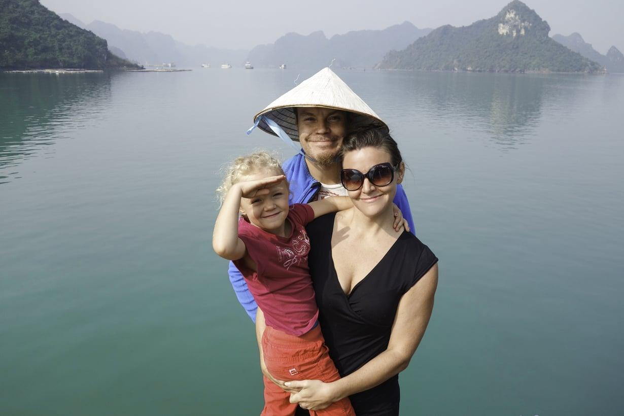 Gian ja hänen perheensä maailmanympärimatka kesti 342 päivää. Kuva: Gia Forsman-Härkösen kotialbumi
