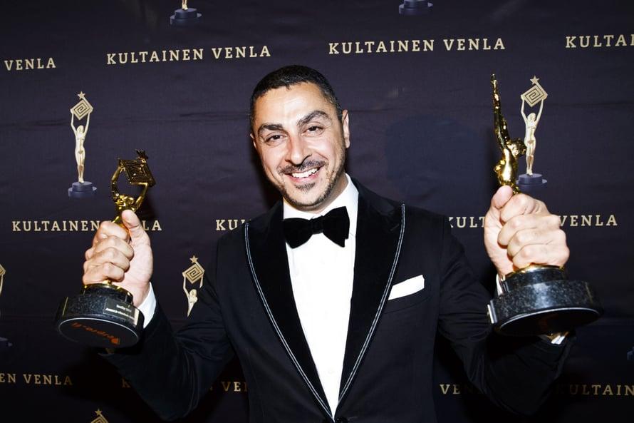 Yleisö äänesti Arman Alizadin viime vuonna vuoden tv-persoonaksi.