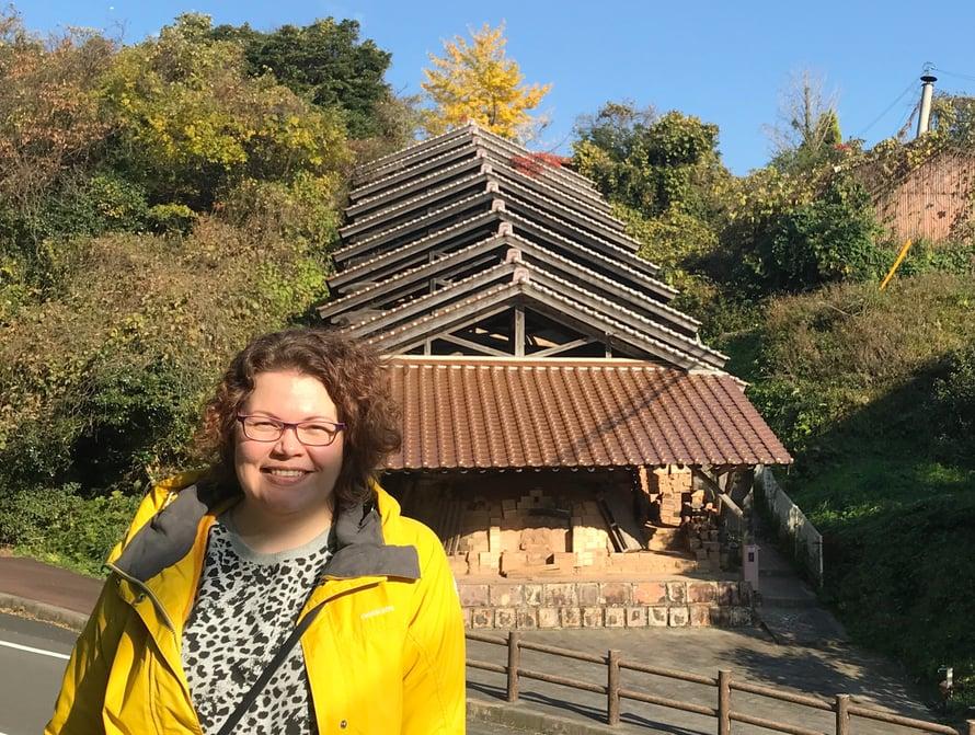 Shimanelaiset keramiikkapajat tulivat tutuksi Anna-Kaisalle kuukauden aikana.