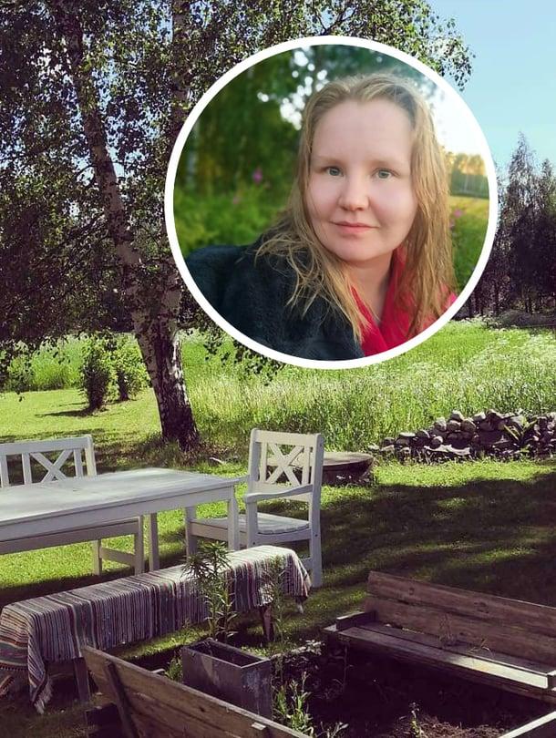 Ella Väisänen palasi lapsuutensa kotikylään.