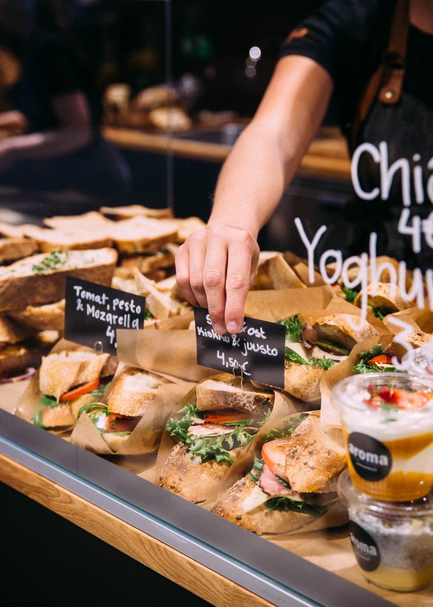 Aroma Bageri Vaasassa tarjoaa uskomattoman meheviä leipiä. Kuva: Nathalie Aurén