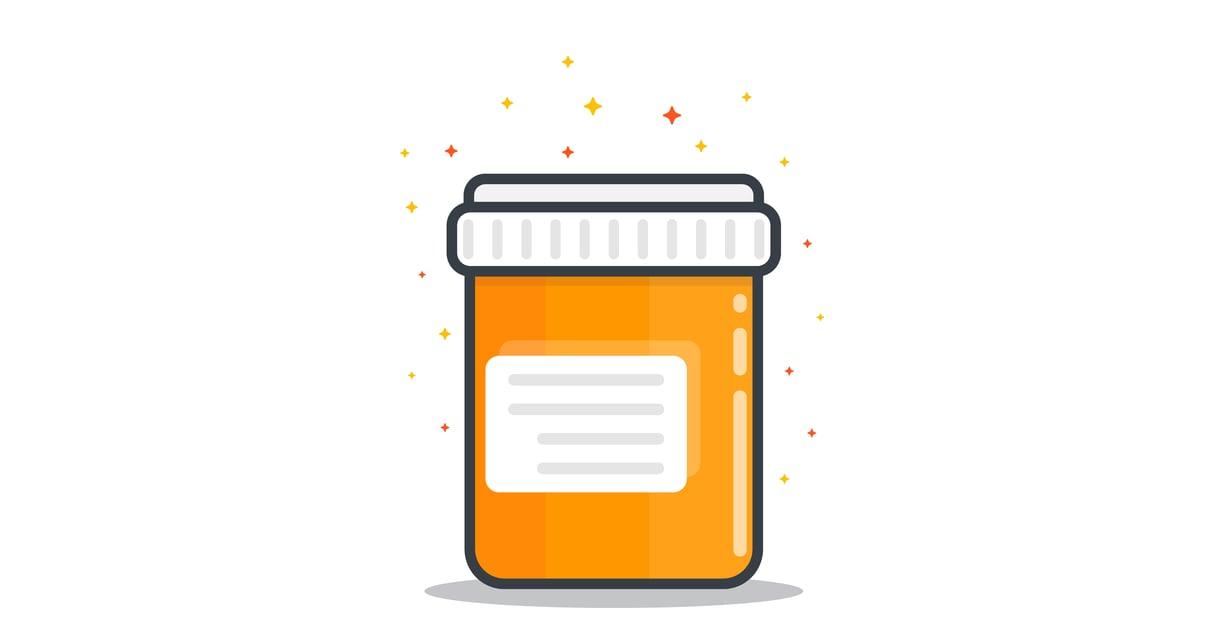 D-vitamiinipurkki on syytä ottaa käden ulottuville viimeistään lokakuun alussa. Kuva: Shutterstock