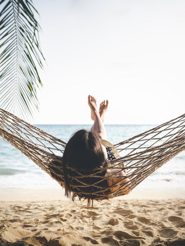 Palautuminen ei välttämättä vaadi löhölomaa paratiisisaarella, mutta ei siitä haittaakaan ole.
