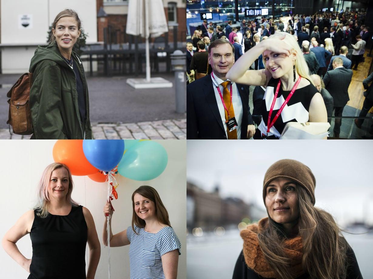 Nämä naiset muuttavat maailmaa. Kuvat: Sanoma-arkisto