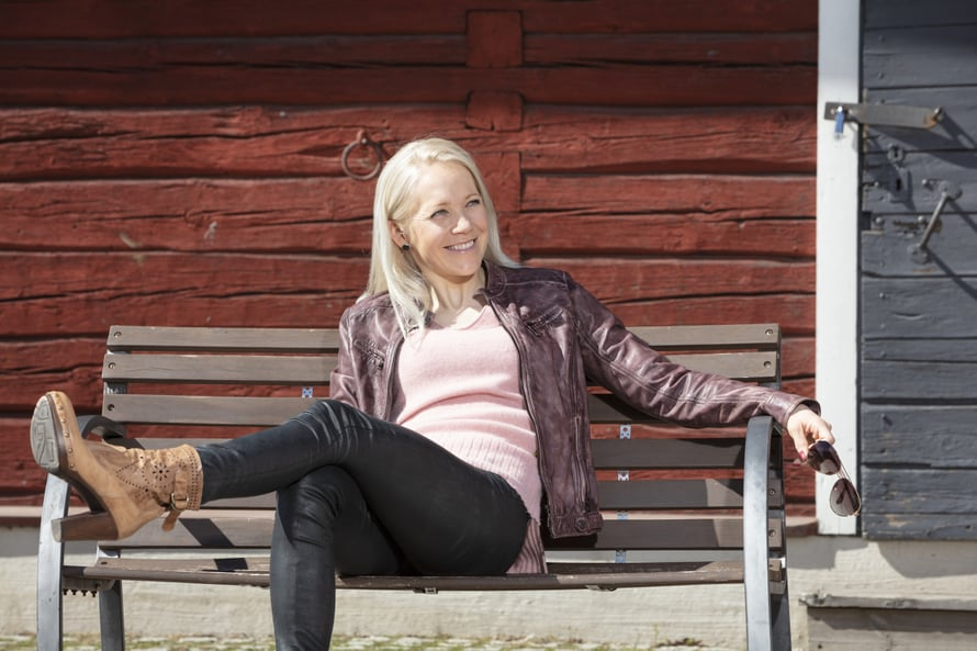 Kaisa Mäkäräinen ajattelee Suomen luontoa kuin yhtenä suurena kuntosalina.