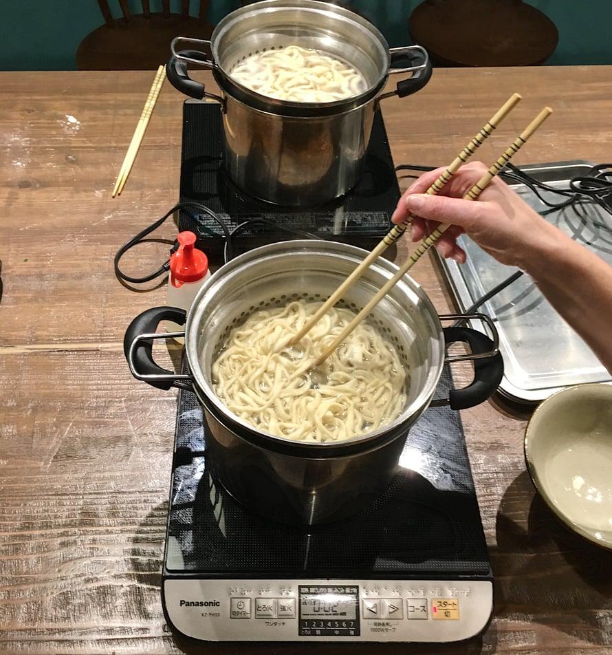 Tarkka keittoaika: kolmen minuutin nuudelit.