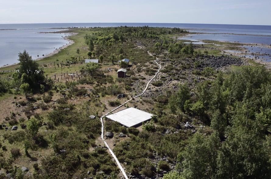 Selkä-Sarven saari Kemin edustalla on yksi Perämeren kansallispuiston suosituimmista kohteista.