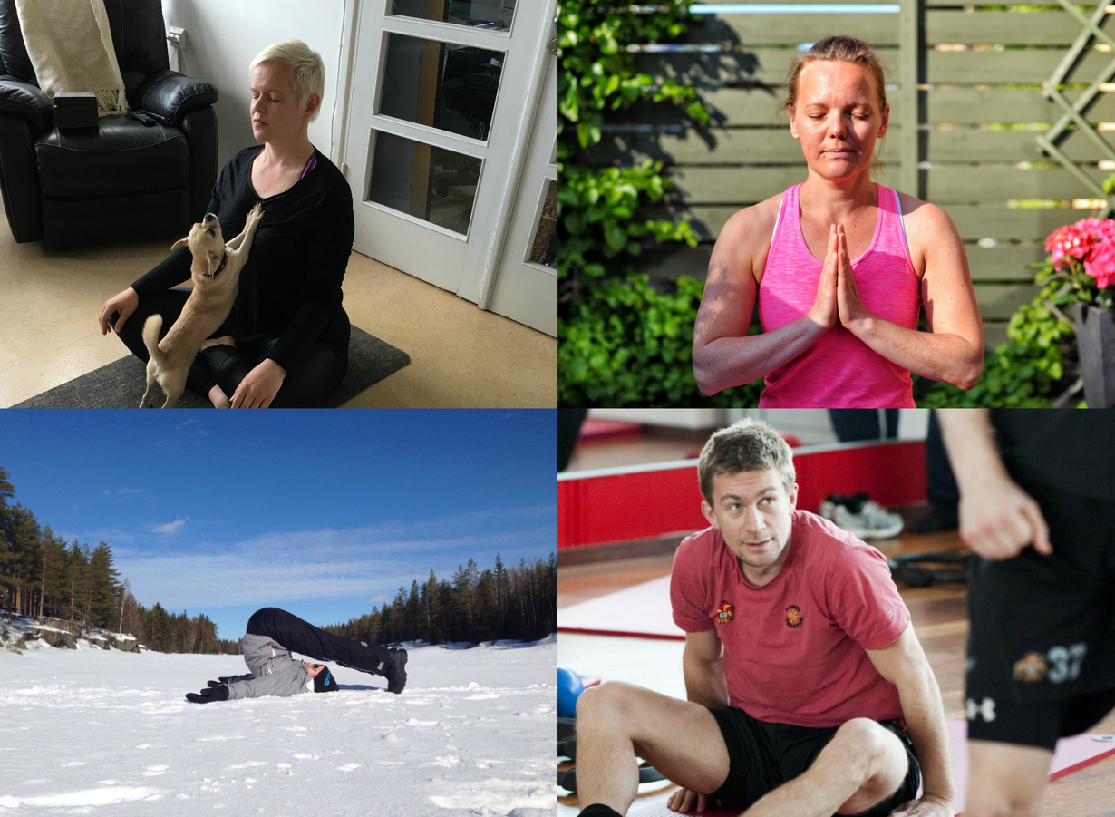 Susanna Keskinarkaus, Saara Marvala, Katja Misikangas ja Antti-Jussi Niemi.