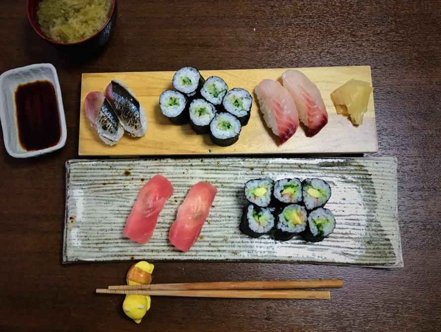 Päivän lounas misokeiton kanssa on valmis! Hyvää ruokahalua!