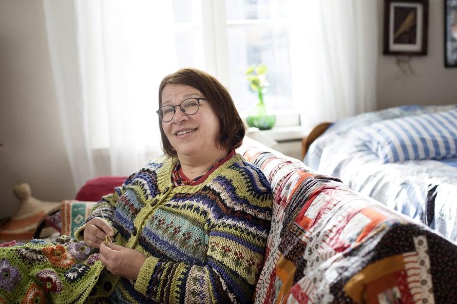 Eläkkeelle joutuminen oli Ullalle raskas kolaus.