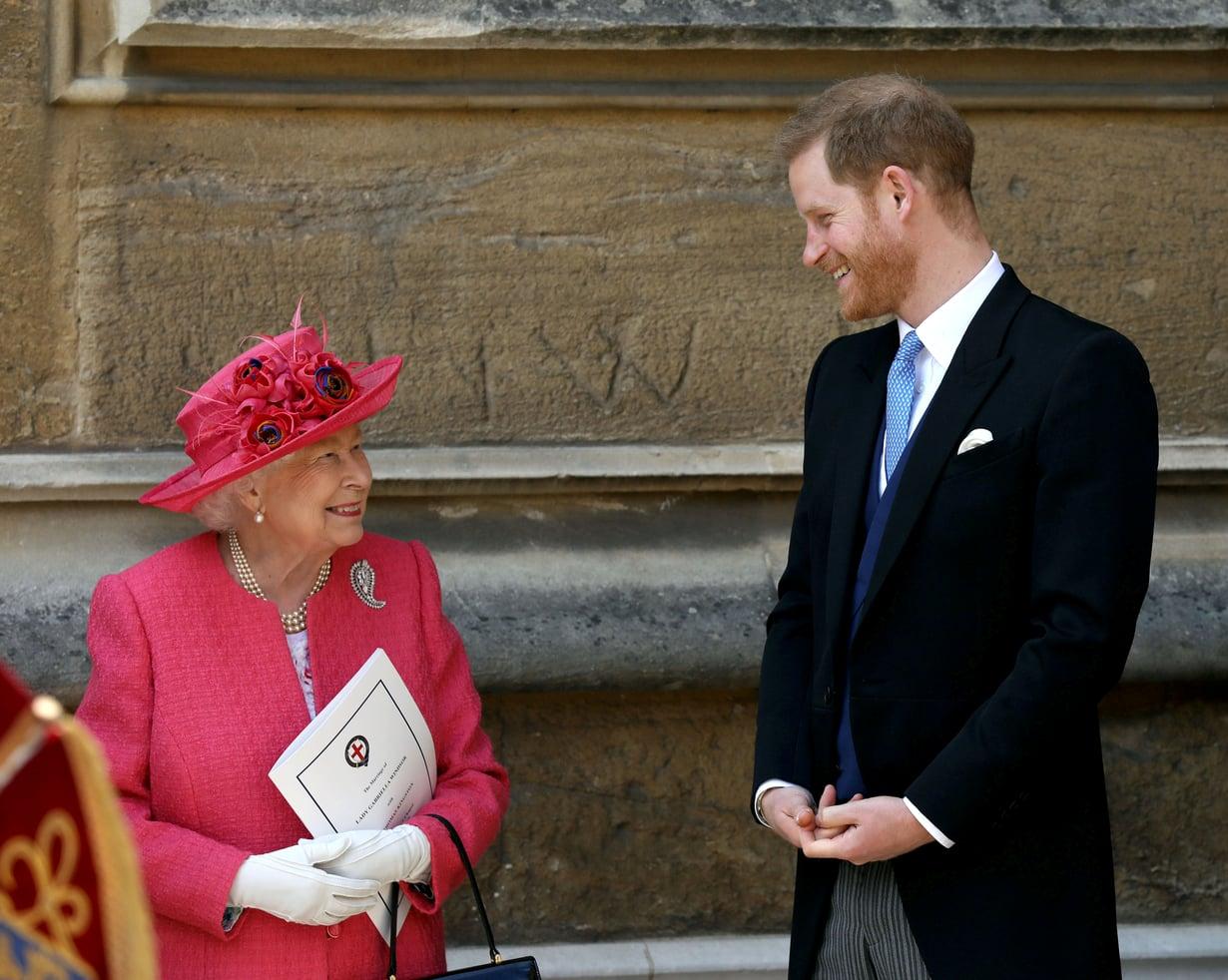 Prinssi Harry on ainakin virallisten tietojen mukaan edelleen hyvissä väleissä mummonsa, kuningatar Elisabetin kanssa, vaikka lähtikin hovista.