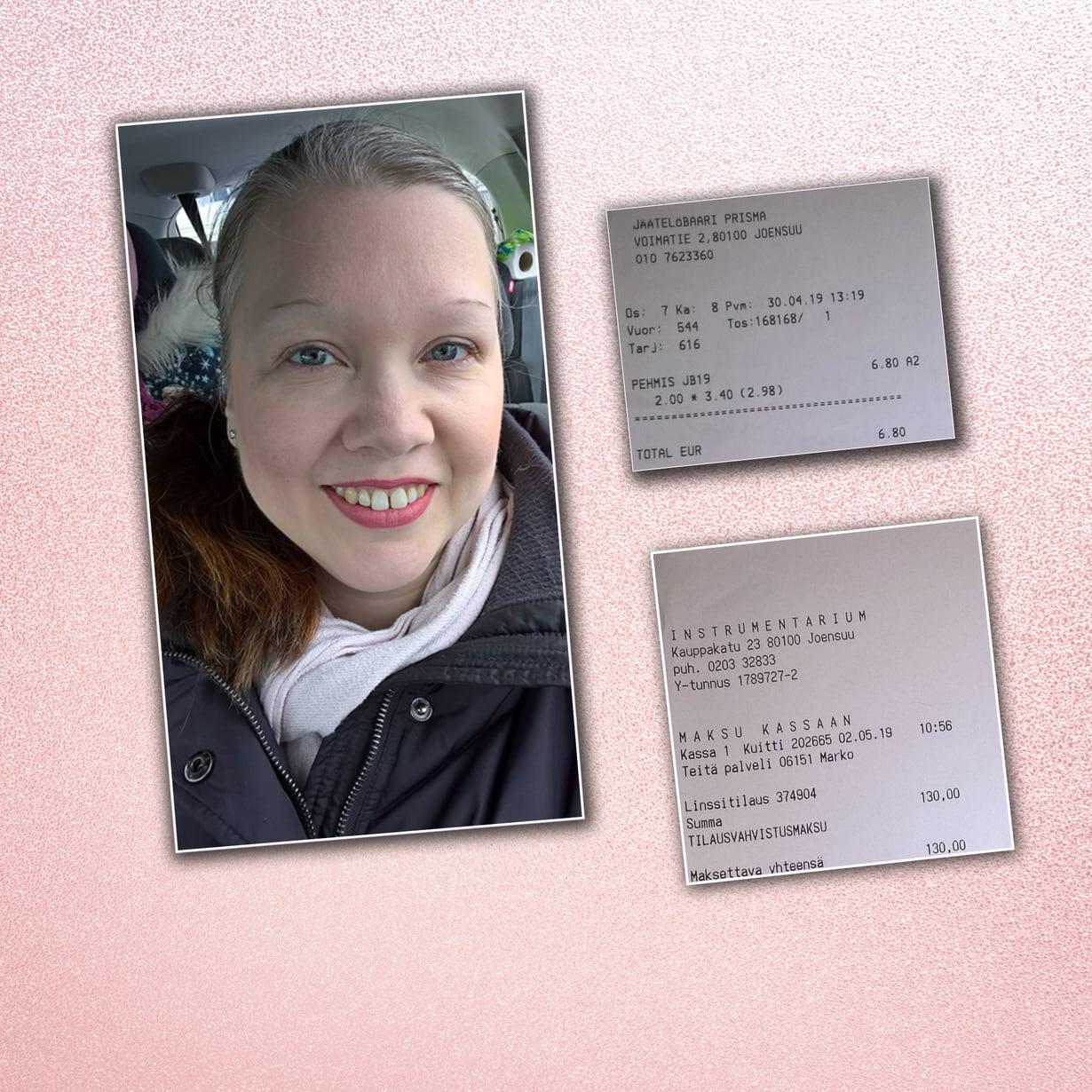 Miten Heidi Aromaa onnistui viime viikolla sijoittamaan itseensä? Kuvat: Heidin kotialbumi ja Shutterstock