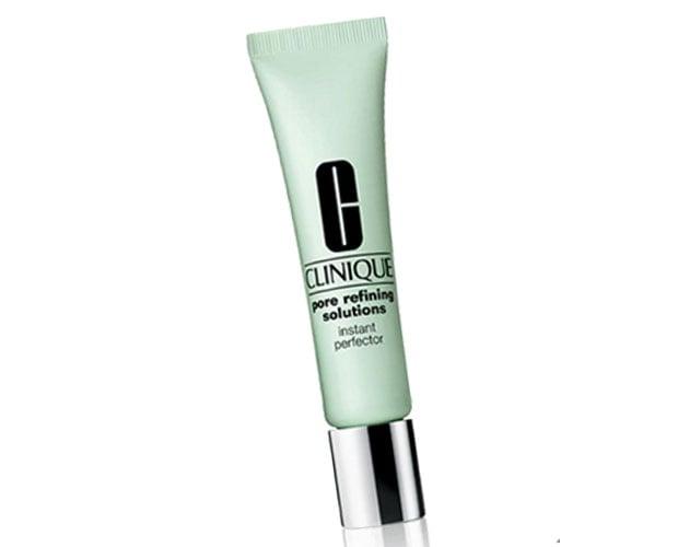 Cliniquen Pore refining solutions instant perfector on jotain ihonhoitotuotteen ja meikin välimaastosta, 29 €.
