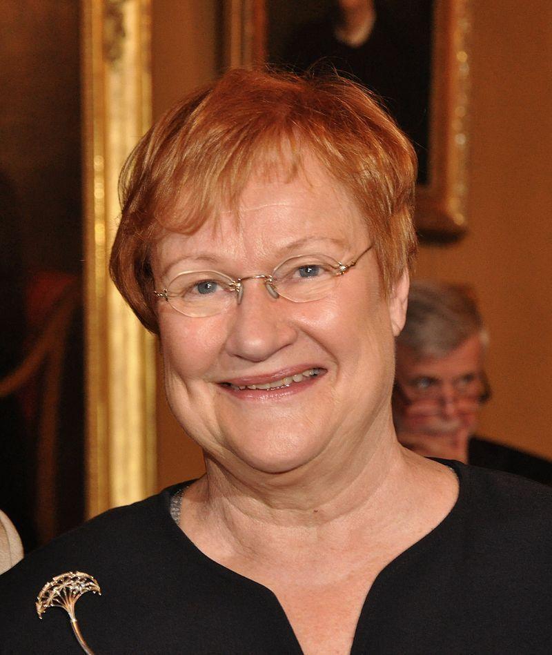 Tasavallan presidentti Tarja Halonen 2000–2006.