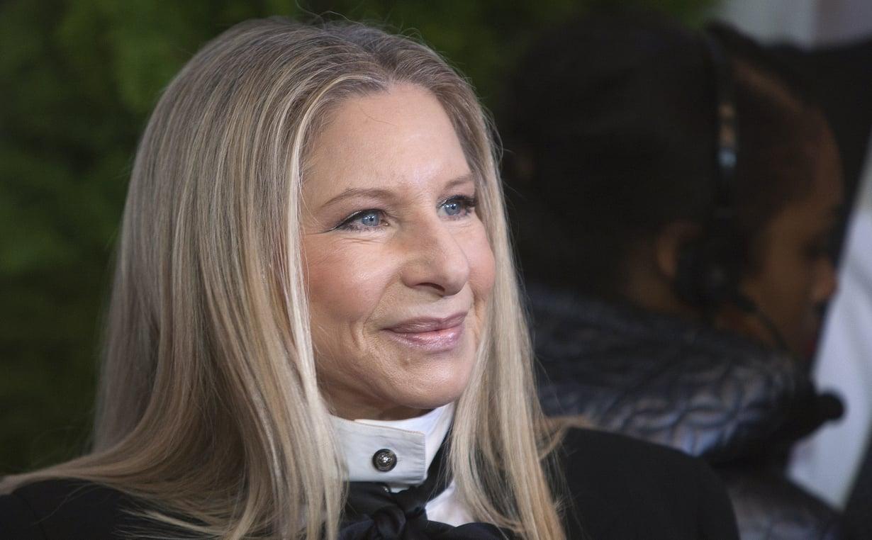 Laulaja Barbra Streisandia kiitellään isonenäisten naisten esikuvaksi. Kuva: Reuters