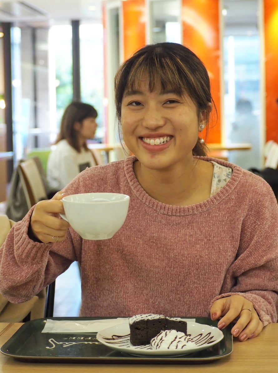 Fukuokasta löytyy suomalainen Robert's Coffee, joka tuo Kaorun mieleen jyväskyläläiset kahvilat.