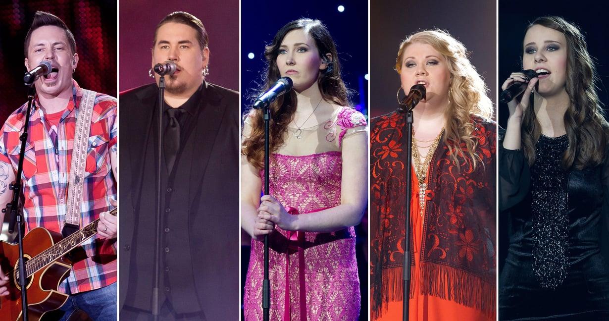The Voice of Finlandissa on kuultu kymmeniä loistavia laulajia, mutta uran luominen kilpailun jälkeen ei ole ollut helppoa. Kuvat: Nelonen ja Sanoma-arkisto / Bo Stranden