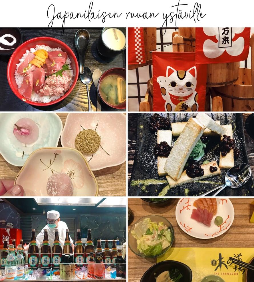 Jos kiinalainen ruoka alkaa kyllästyttää, Macaossa on paljon muitakin vaihtoehtoja. Esimerkiksi japanilainen ruoka on täällä pop!