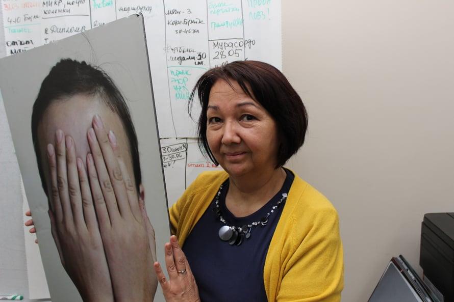 Larisa Ilibezova tutkii naisiin kohdistuva väkivaltaa Kirgisiassa ja kouluttaa viranomaisia.