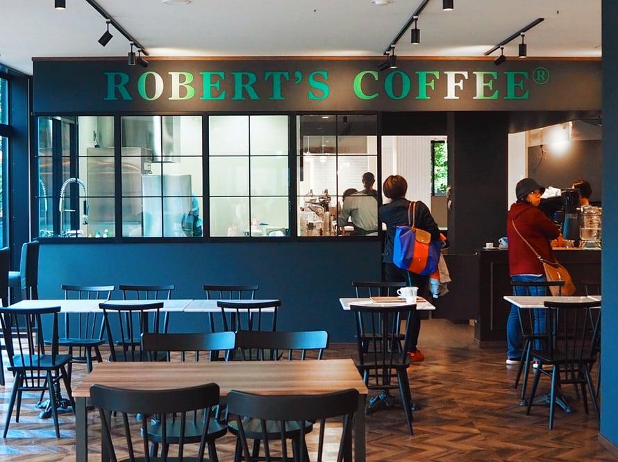 Robert's Coffee. Melkein kuin olisi Helsingissä.