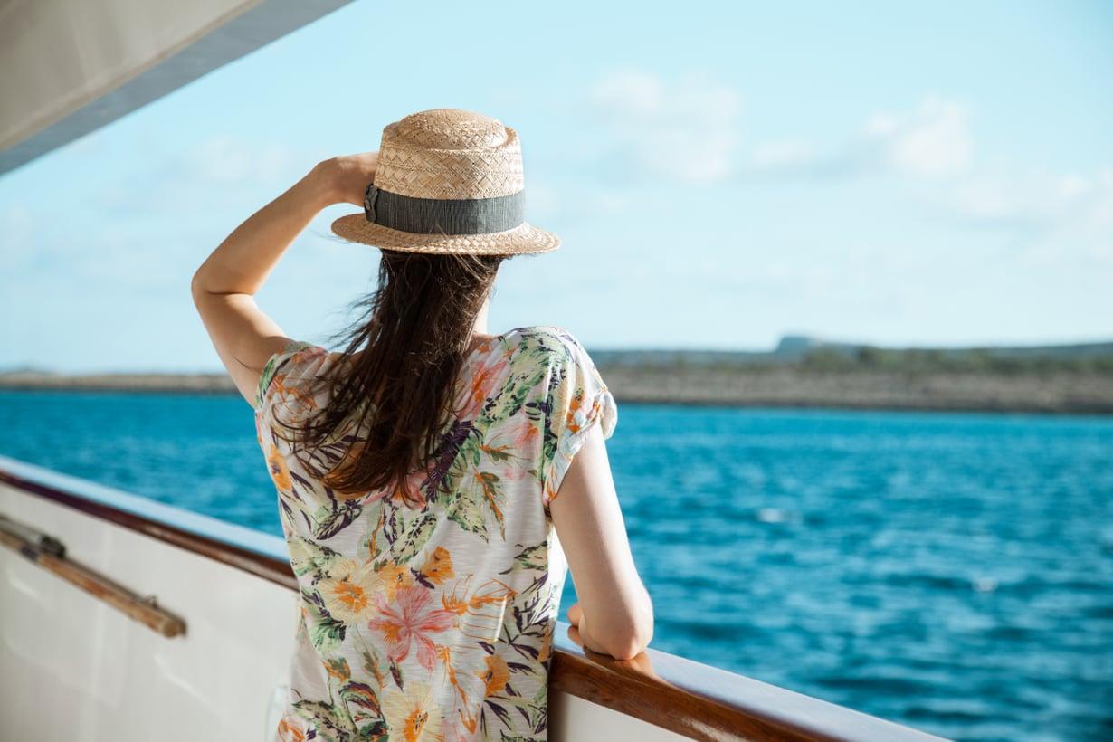 Aah, vain minä ja meri! Kuva: Shutterstock