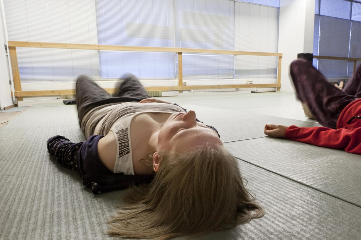 Aloittelija saa jalat tärisemään, kokeneemmalla tärisee koko kroppa. Kuva: Susanna Kekkonen