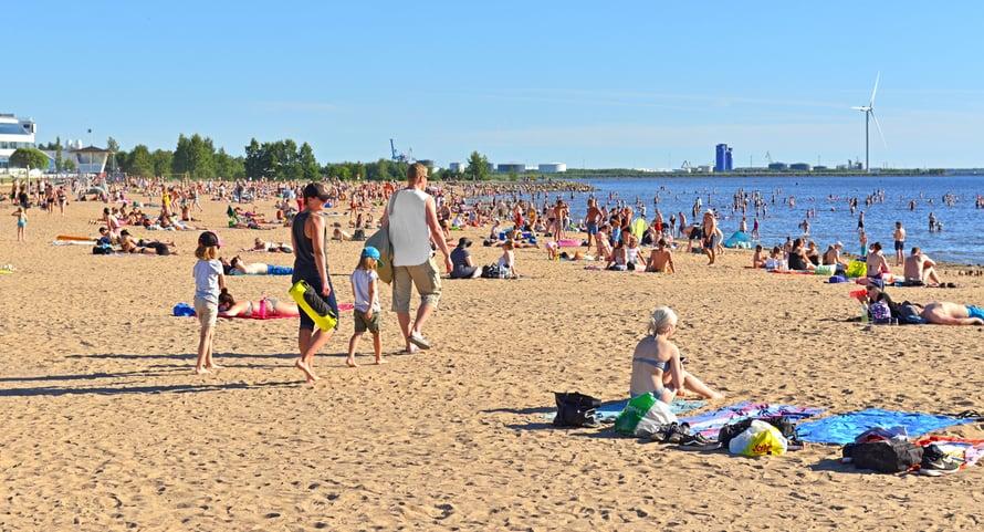 Nallikari. Oulun Riviera. Kuva: Shutterstock