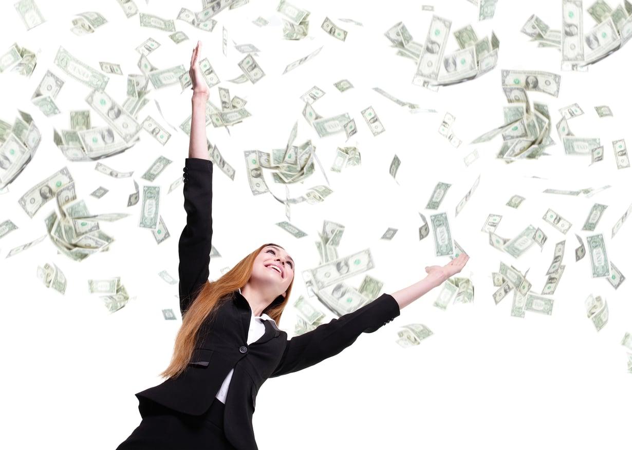 Rahan tuloa ei voi estää, jos on malttia. Kuva: Shutterstock