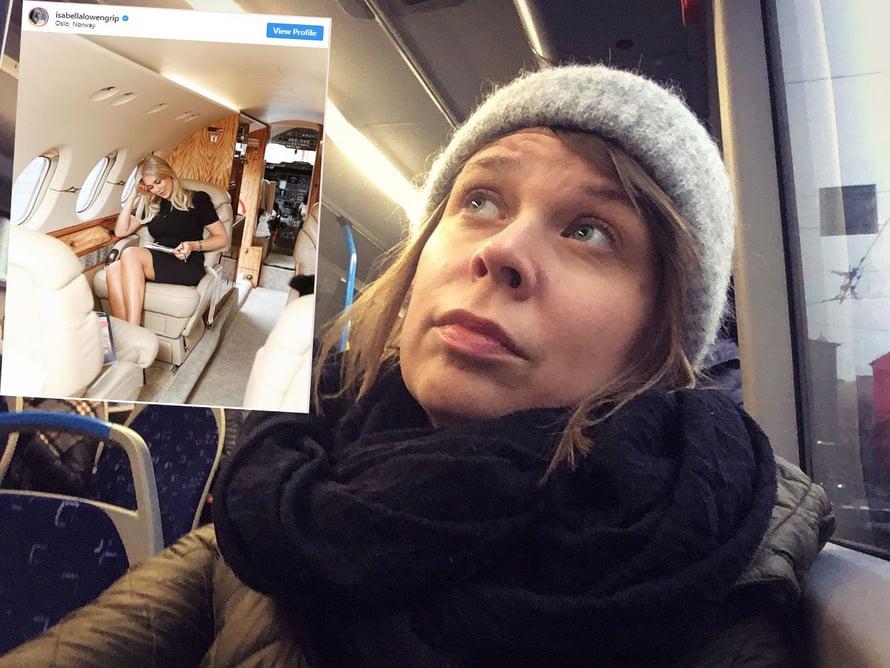 """Kiire paikasta toiseen – se on meille kaikille bloggaajille tuttua. Kuva: <span class=""""photographer"""">Maula ja Isabella Löwengripin Instagram-tili</span>"""