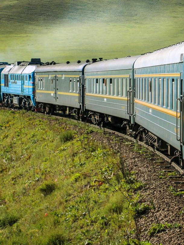 Tänä kesänä matkustetaan muun muassa junalla Siperiaan.