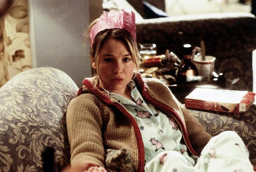 Bridget Jones -leffat ajoittuvat Renéen uran vauhtivuosiin.