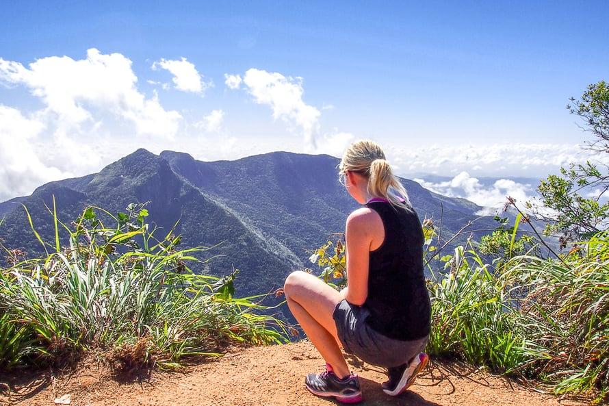 Sri Lankalla Anna-Katri tykästyi erityisesti luonnonpuistoihin.