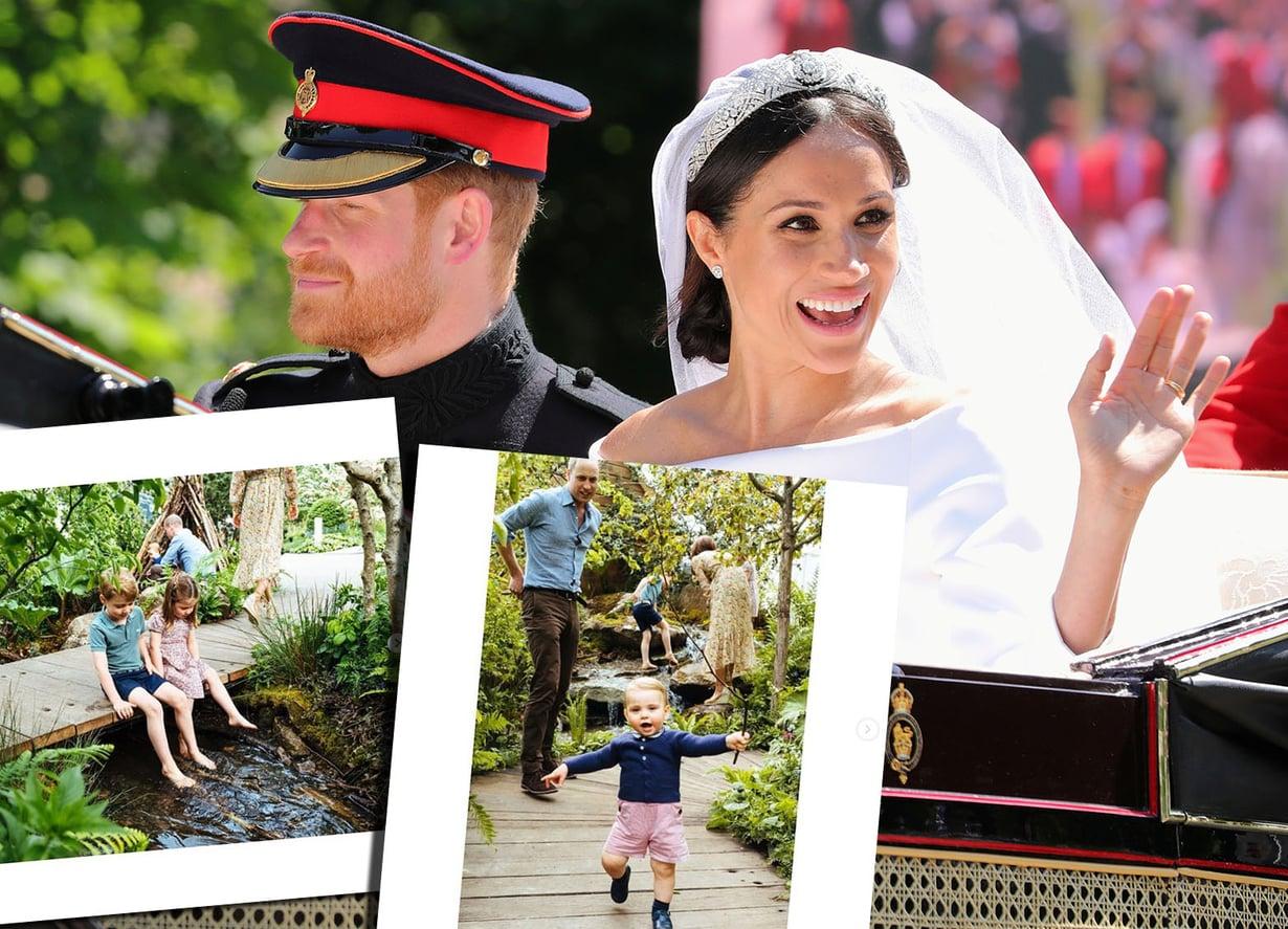 Kensingtonin palatsin suloiset kuvat söivät huomiota Harryn ja Meghanin hääpäivältä.