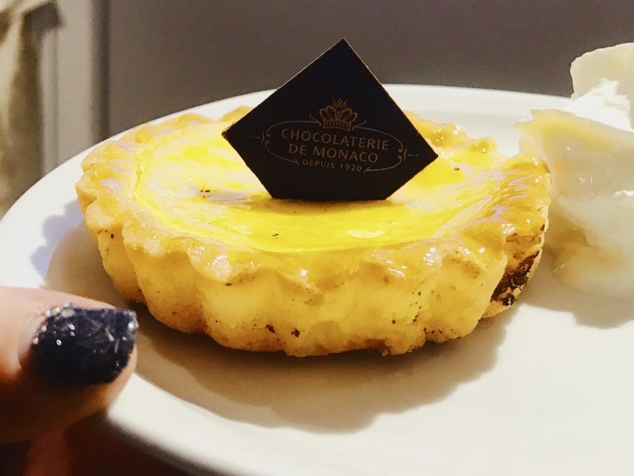 Sitruunaleivos suklaatehtaassa. 5,25 euroa.