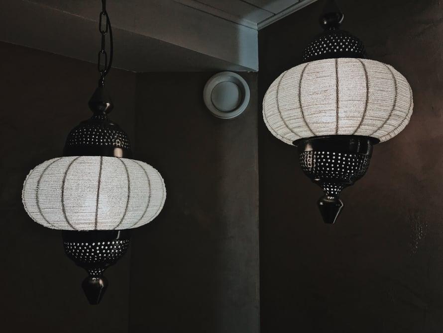 Kauniit lamput.