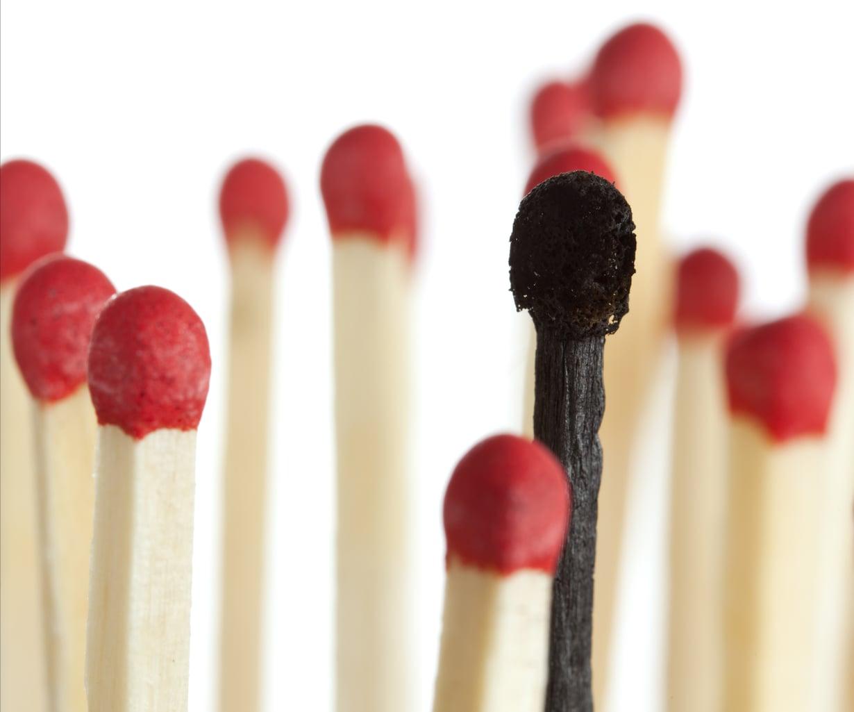 Uupumuksesta kärsivä saattaa ajatella, ettei pysty samaan kuin kollegansa. Kuva: Colourbox