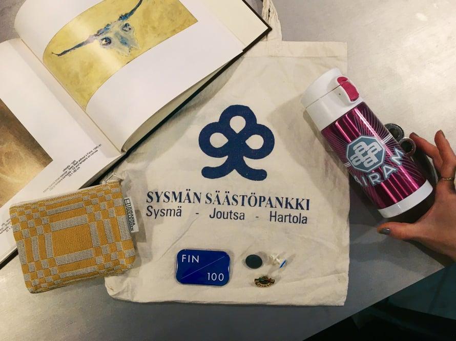 Yokon Suomi-aarteita eri vuosikymmeniltä.