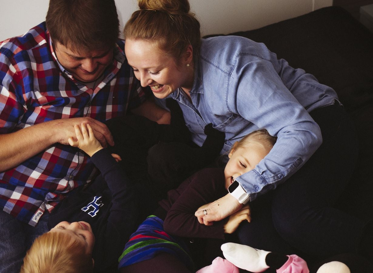 Mikolle ja Jennille lapset ovat lahja, kirjaimellisesti.