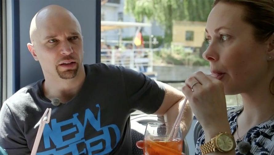 Petrin mukaan huumorintaju yhdistää häntä ja Maria. Mutta se ei ihan katsojille asti välittynyt tiistain jaksossa. Kuvat: MTV3