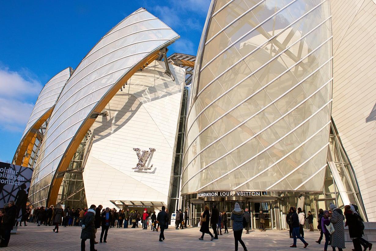 Fondation Louis Vuitton -taidemuseo on toiminut Pariisissa vuodesta 2014.