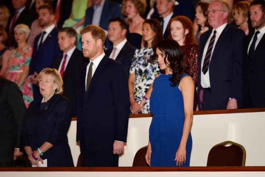 Syyskuussa Meghan edusti näin hehkuvana. Kuva: Reuters.