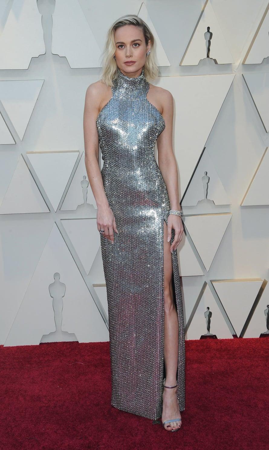 Oscar-palkittu Brie Larson luotti Celine by Hedi Slimane -iltapukuun.
