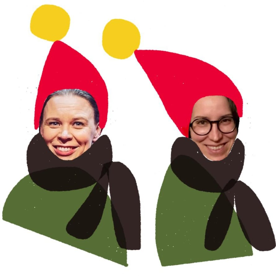 Maula ja Larres toivottavat sekavaa joulua!