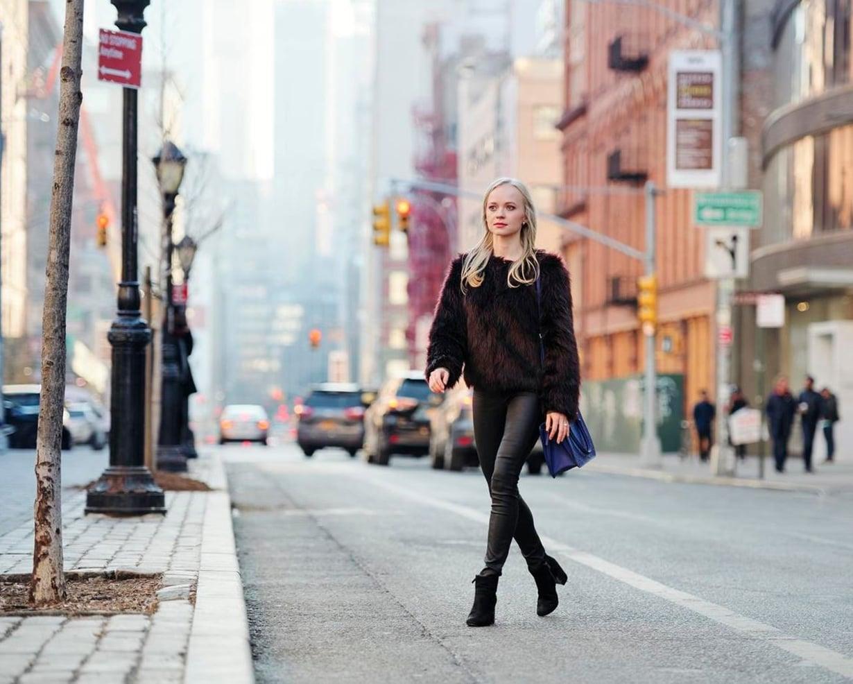 Elina ottaa tyylivaikutteita New Yorkin katujen persoonallisilta pukeutujilta.