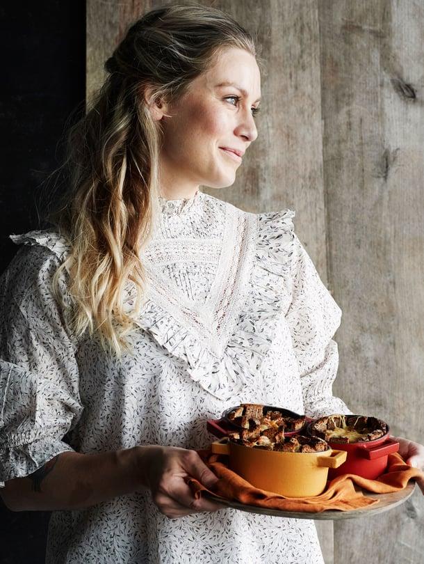 Meri-Tuuli Väntsin rukiisten kantarelliruukkujen resepti on alunperin hänen äitinsä neronleimaus.